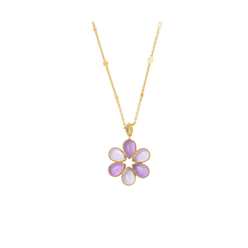 COLLIER Anatolian Flower